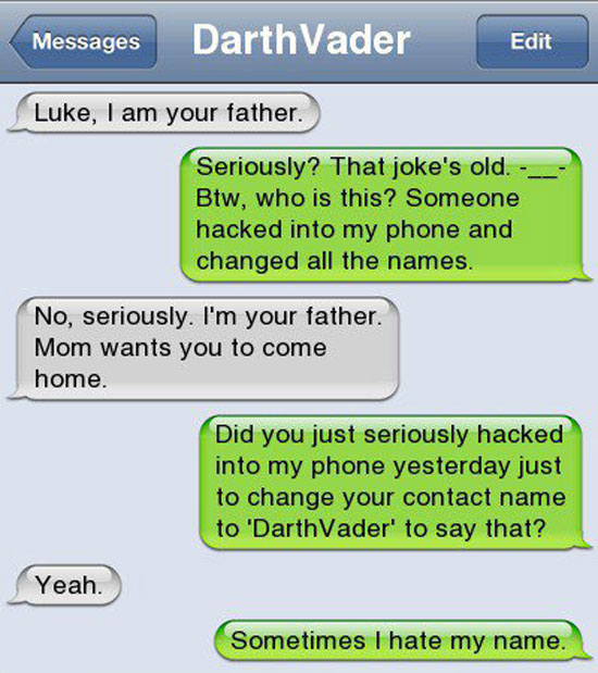 luke - im youre father