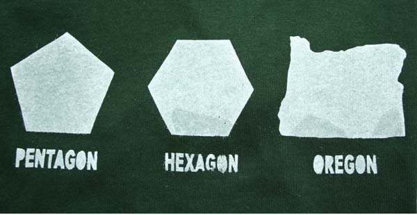 Pentagon, Hexagon, Oregon