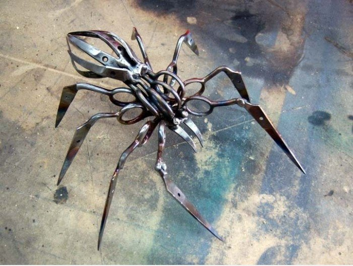 Stainless Steel Spinne