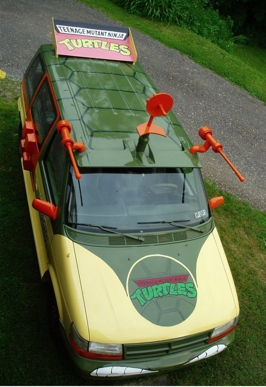Real-life Ninja Turtles Van
