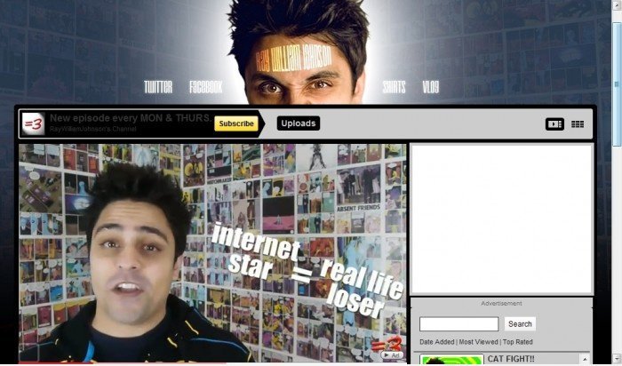 Ray William Johnson sagt es richtig