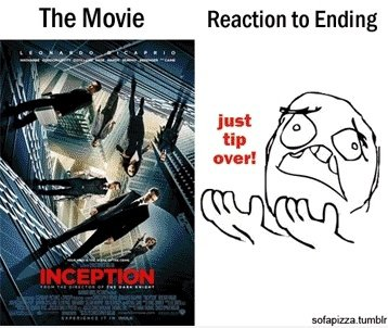 Reaction zum Film Ende