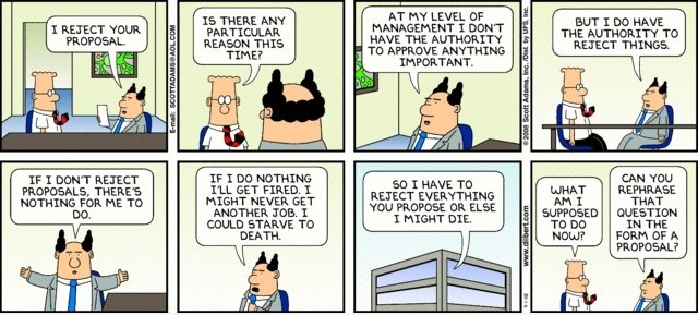 Dilbert: REJECT