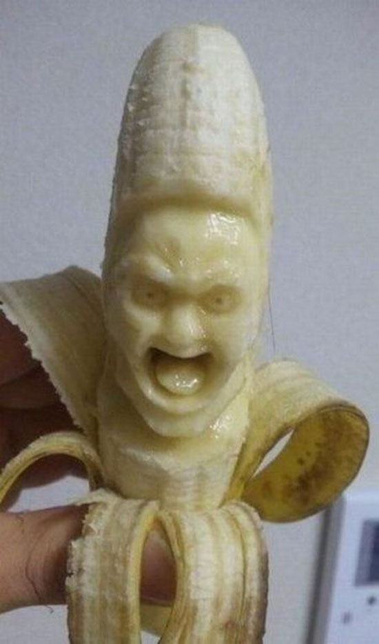 Das Bananen-Monster