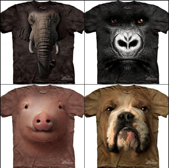 coole tier tshirts