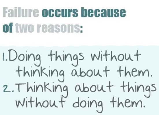 failure occurs beacuse of two reasons