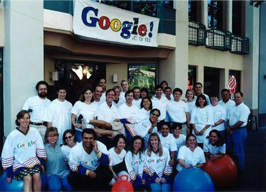 google in 1999 when they started