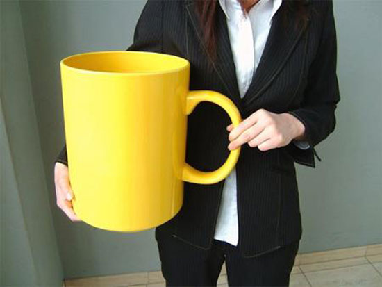 große tasse kaffee