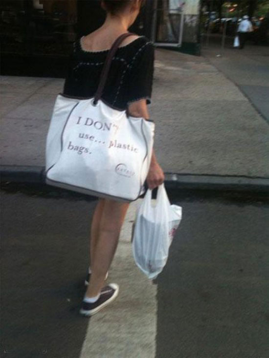 i dont use plastic bags