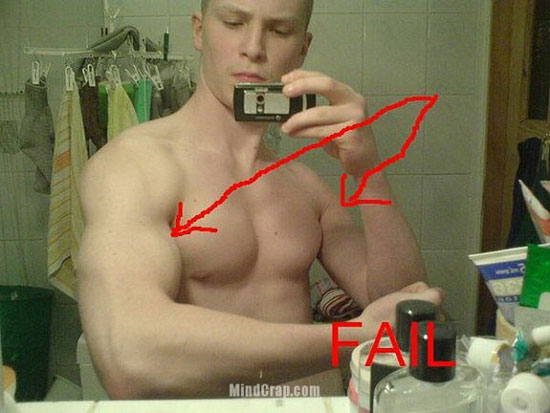 Photoshop fail fake macule