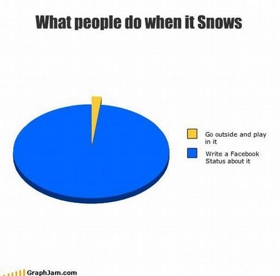snow vs facebook