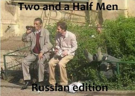 Two and a Half Men - Russische Version - WinFail Bild
