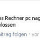 facebook fail abgemeldet