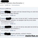 facebook fail Hausarrest