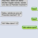 sms fail mutter nageln