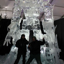 awesome ice sculpture
