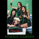 female gamers doing it wrong