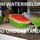 Watermelon you understand me